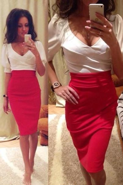 PACKAGE HIP PENCIL SKIRT PL0119EB KL0114DC